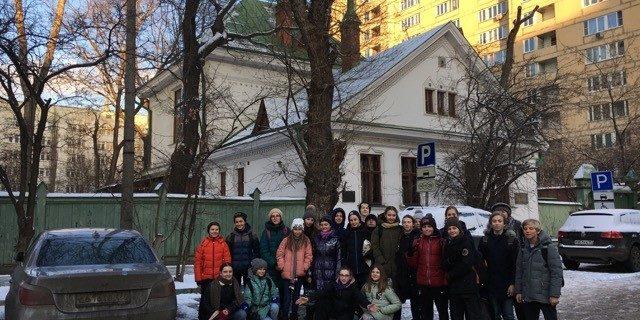 Les 5eme SIR à la découverte du peintre Vasnetsov