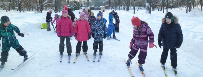 Les CPC font du ski