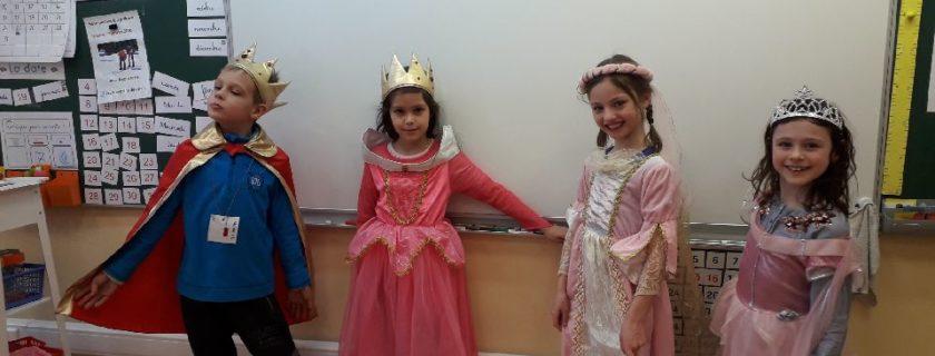 Les élèves du CE1 du primaire se rencontrent à l'école Ivan Bounine