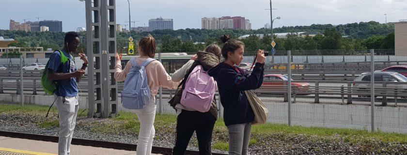 Moscou vu par les 4èmes