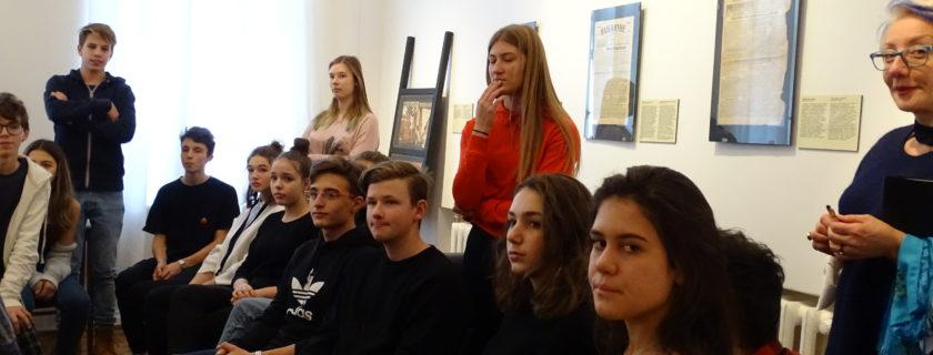Les 2ndes SIR au musée Boulgakov