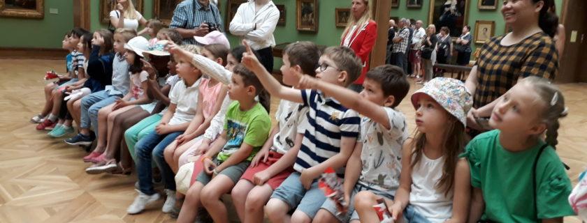 Mardi 18 juin, visite culturelle à la galerie Tretyakov.