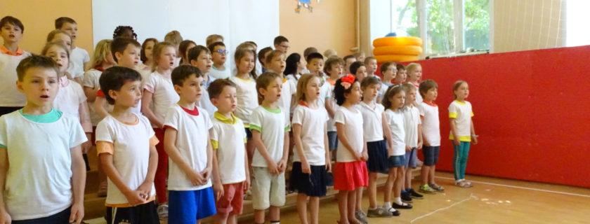 Moment festif pour les CP de l'école Ivan Bounine