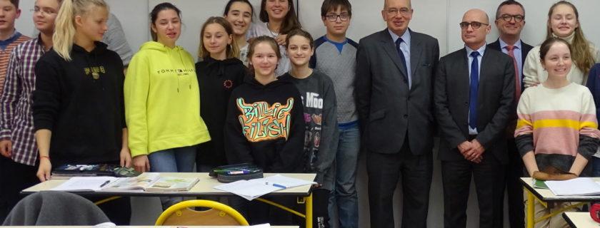 Visite de l'ambassadeur de France au LFM