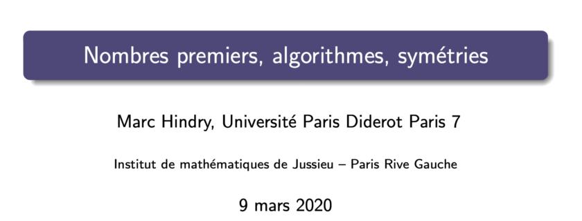Une visioconférence de mathématiques entre Paris et Moscou pour les élèves de première et de terminale