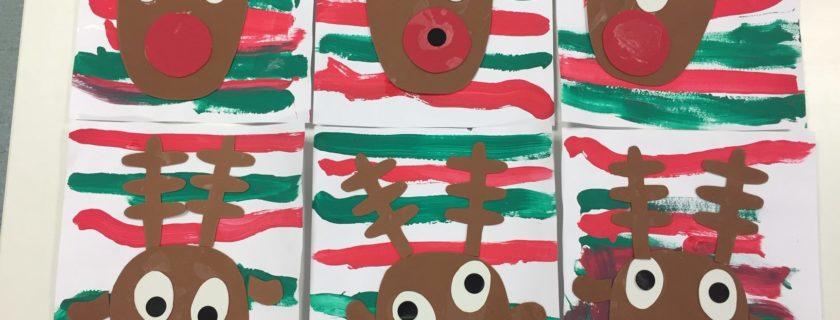 Les rennes du Père Noël d'IDF … LES PS/MS