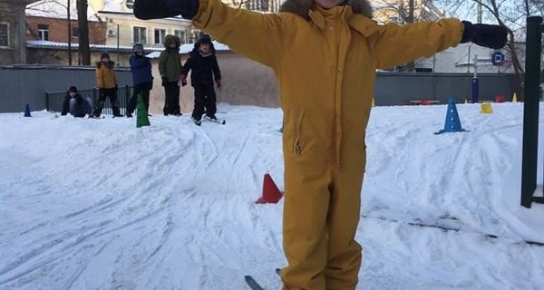 Le ski… à Bounine