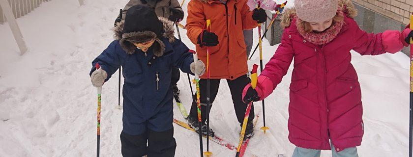 Le ski à IDF