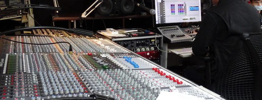 Studio d'enregistrement pour les troisièmes